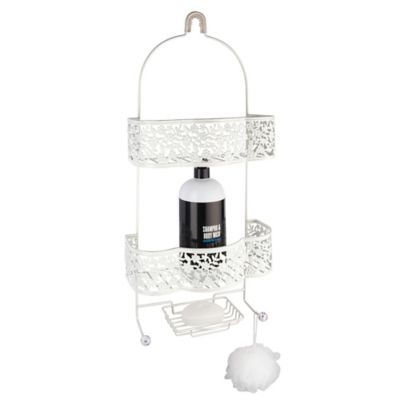 Petite Flower Shower Caddy