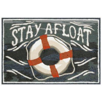 Trans-Ocean 20-Inch x 30-Inch Stay Afloat Water Door Mat