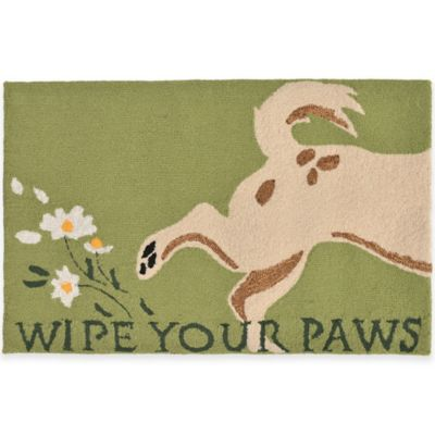 Trans-Ocean 24-Inch x 36-Inch Wipe Your Paws Door Mat