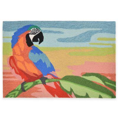 Trans-Ocean 20-Inch x 30-Inch Macaw Sunset Door Mat