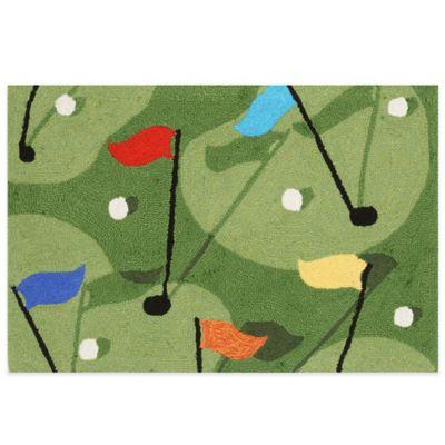 Trans-Ocean 20-Inch x 30-Inch Golf Grass Door Mat