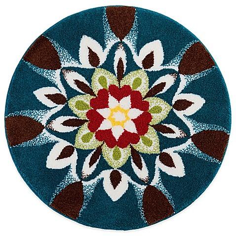 buy grund harmony 4 foot round bath rug from bed bath beyond. Black Bedroom Furniture Sets. Home Design Ideas