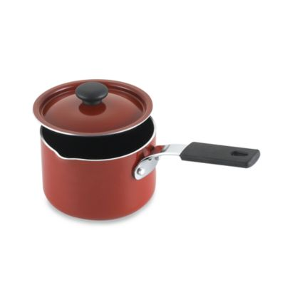 Denmark® 1-Quart Mini Covered Saucepan in Red