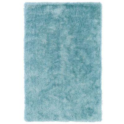 Kaleen Posh 2-Foot x 3-Foot Shag Accent Rug in Light Blue