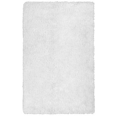 5 x 7 White Area Rug