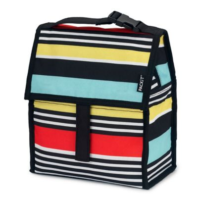 PACKiT® Freezable Lunch Bag in Surf Stripe