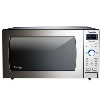 Panasonic Cyclonic Wave Microwave in Stainless Steel