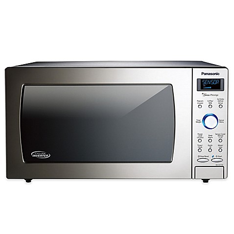 ... Cyclonic Wave Microwave in Stainless Steel from Bed Bath & Beyond