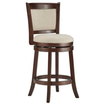 Verona Home Bramante Swivel Barstool in Smoke