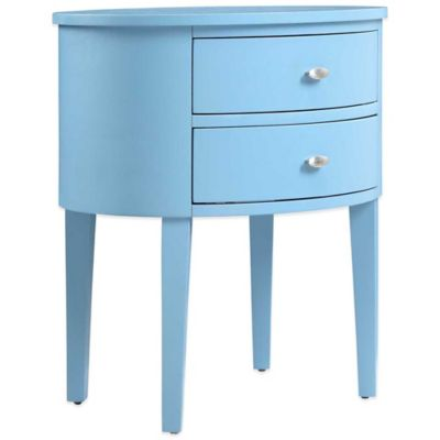 Verona Home Vilamoura Accent Table in Blue