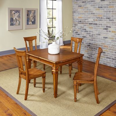 Home Styles Americana 5-Piece Dining Set in Oak