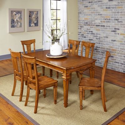 Americana 7-Piece Dining Set in Oak