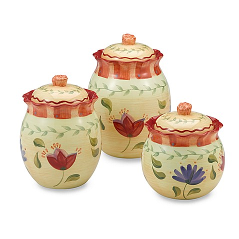 Napoli 3-Piece Canister Set