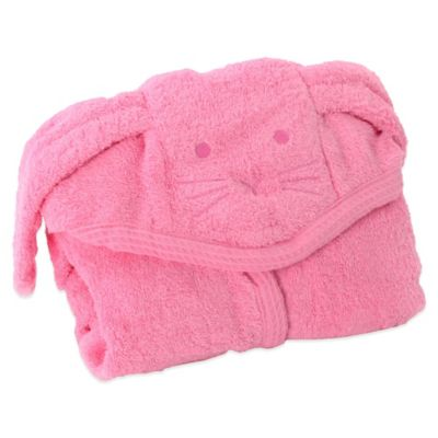 Toddler Nation Size S Cuddly Cat Bath Robe in Pink