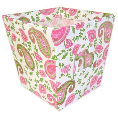 Trend Lab® Paisley Park Medium Fabric Storage Bin
