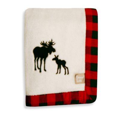 Trend Lab® Northwoods Moose Receiving Blanket