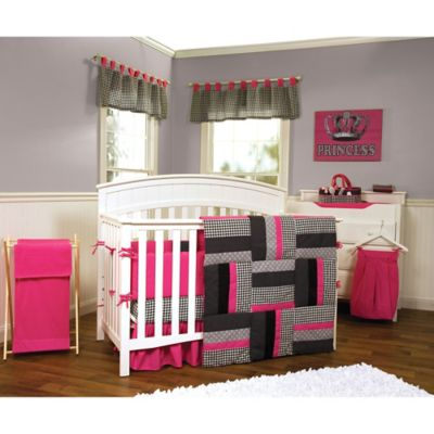 Trend Lab® Serena 3-piece Reversible Crib Bedding Set
