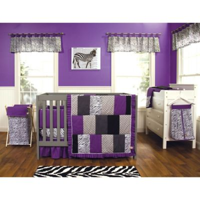 Trend Lab® Grape Expectations 3-Piece Crib Bedding Set