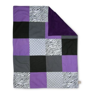 Trend Lab® Grape Expectations 2-Layer Receiving Blanket