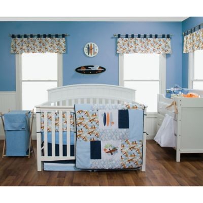 Trend Lab® Surf's Up 3-Piece Crib Bedding Set