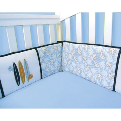 Trend Lab® Surf's Up 4-Piece Crib Bumper Set