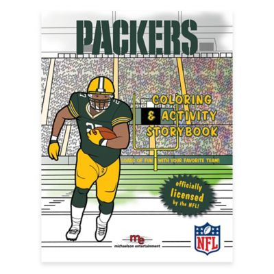 NFL Coloring and Activity Storybook