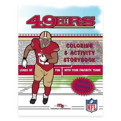NFL™ Coloring and Activity Storybook > NFL™ San Francisco 49ers Coloring and Activity Storybook
