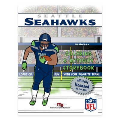 NFL™ Seattle Seahawks Coloring and Activity Storybook