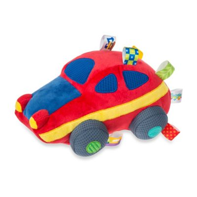 Taggies™ Mary Meyer Wheelies Sports Car Soft Toy