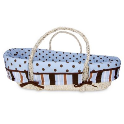 Trend Lab® Max 4-Piece Moses Basket Set