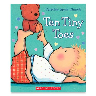 "Scholastic ""Ten Tiny Toes"" by Caroline Jayne Church"