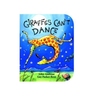 """Giraffes Can't Dance"" Board Book by Giles Andreae"