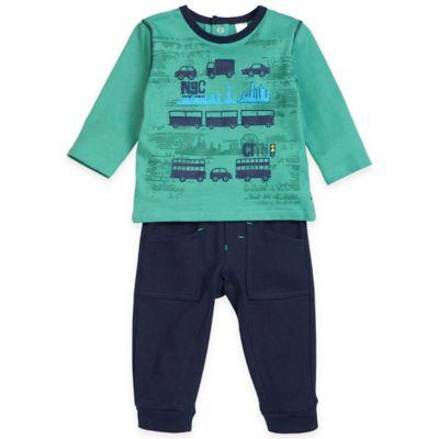 Green Shirt and Pant Set