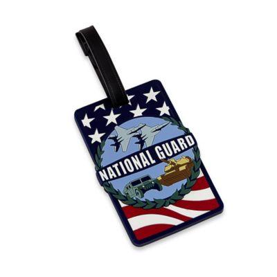US National Guard Bag Tag