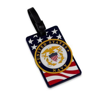 US Navy Bag Tag