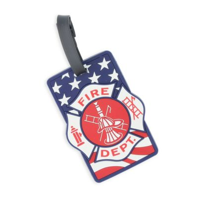 Fire Dept Bag Tag
