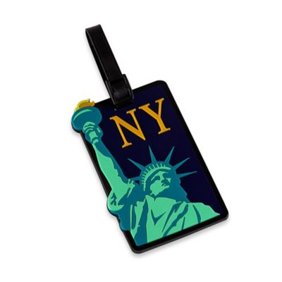 New York Liberty Bag Tag