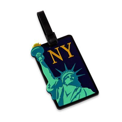 New York Liberty Bag Tag