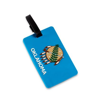 Oklahoma Bag Tag