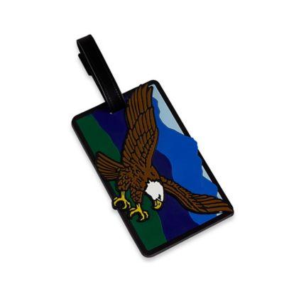 Bald Eagle Bag Tag