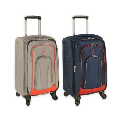Nautica Timoneer 20-Inch Expandable Spinner in Grey/Orange