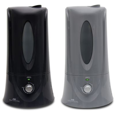Air Innovations 1.1 Gallon Clean Mist Ultrasonic Humidifier in Black
