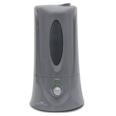Air Innovations 1.1 Gallon Clean Mist Ultrasonic Humidifier in Platinum
