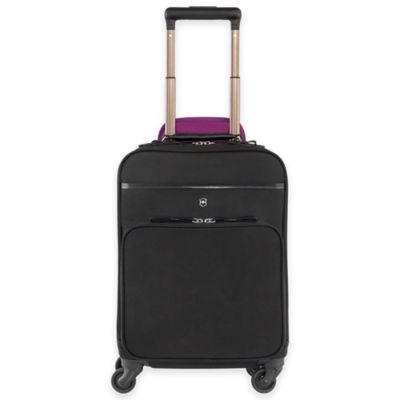Victorinox® Victoria Brilliance Wheeled Laptop Case in Black