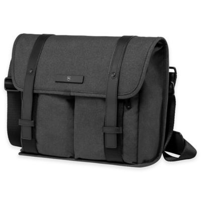Victorinox® Architecture Urban Lombard Mini Laptop Messenger Bag in Grey