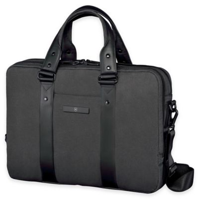 Grey Laptop Briefcase