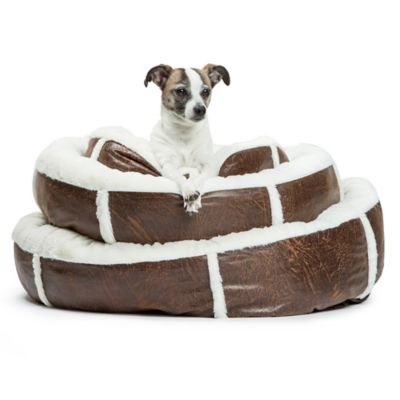 Best Friends by Sheri Small Round Bumper Pet Bed