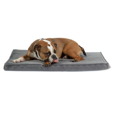 Best Friends by Sheri Nap Mat Plus Pet Bed in Graphite