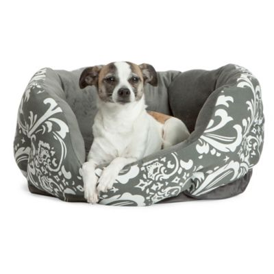Best Friends by Sheri Duchess Small Cuddler Pet Bed in Amsterdam Graphite