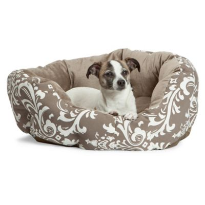 Best Friends by Sheri Duchess Small Cuddler Pet Bed in Amsterdam Cocoa